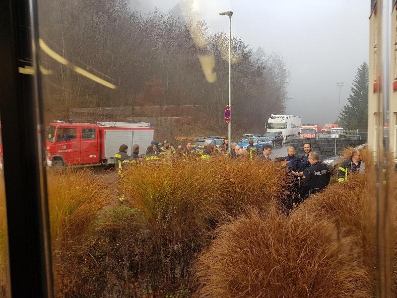 Unterstützung Feuerwehr